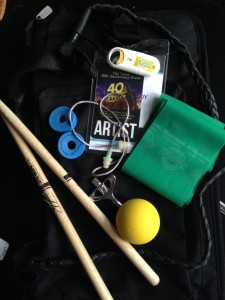 Drummer John Clardy of Tera Melos' Tour Tip Essentials