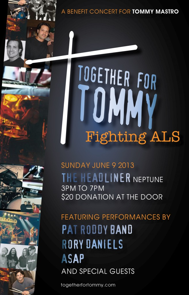 Together For Tommy, Fighting Against ALS Benefit Concert