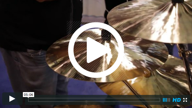 Dream Cymbals and Gongs at NAMM 2015 (VIDEO)