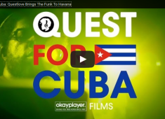 Okayplayer Films followed Roots/Tonight Show drummer and Okayplayer founder, Questlove, as he journeyed to Havana, Cuba, where he engaged in extensive cultural research by digging up some classic Cuban-made vinyl and by visiting the legendary EGREM studios, where most of those classic sessions were recorded. Questlove also showed partygoers how he gets down, delivering two nights of DJ sets at Fabrica de Arte Cubano....