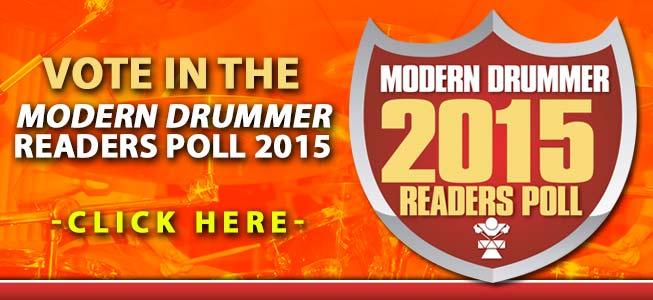 Modern Drummer 2015 Readers Poll Ballot