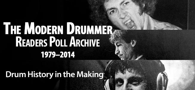 Modern Drummer's Readers Poll Archive