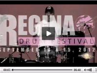 <b>Ronn Dunnett at the 2012 Regina Drum Festival </b>