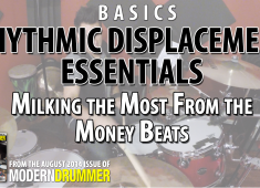Click here to check out Rich Redmond's video accompaniment for his video on rhythmic displacement basics.