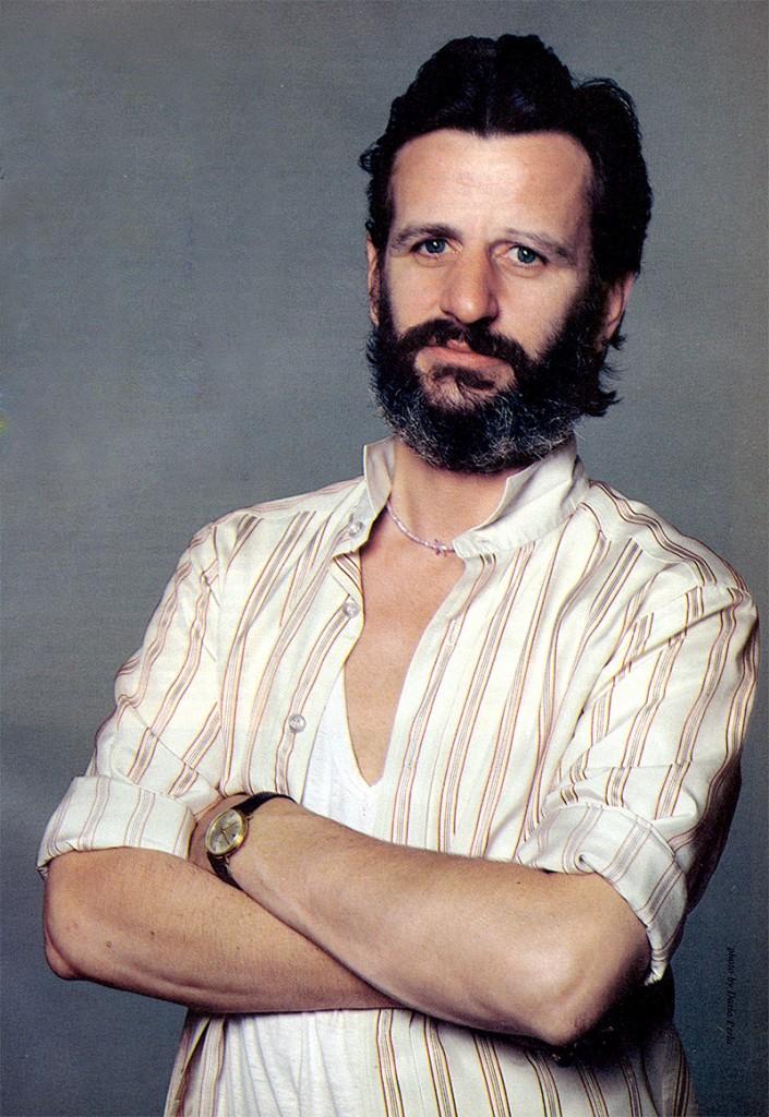 Beatles Drummer Ringo Starr in Modern Drummer magazine