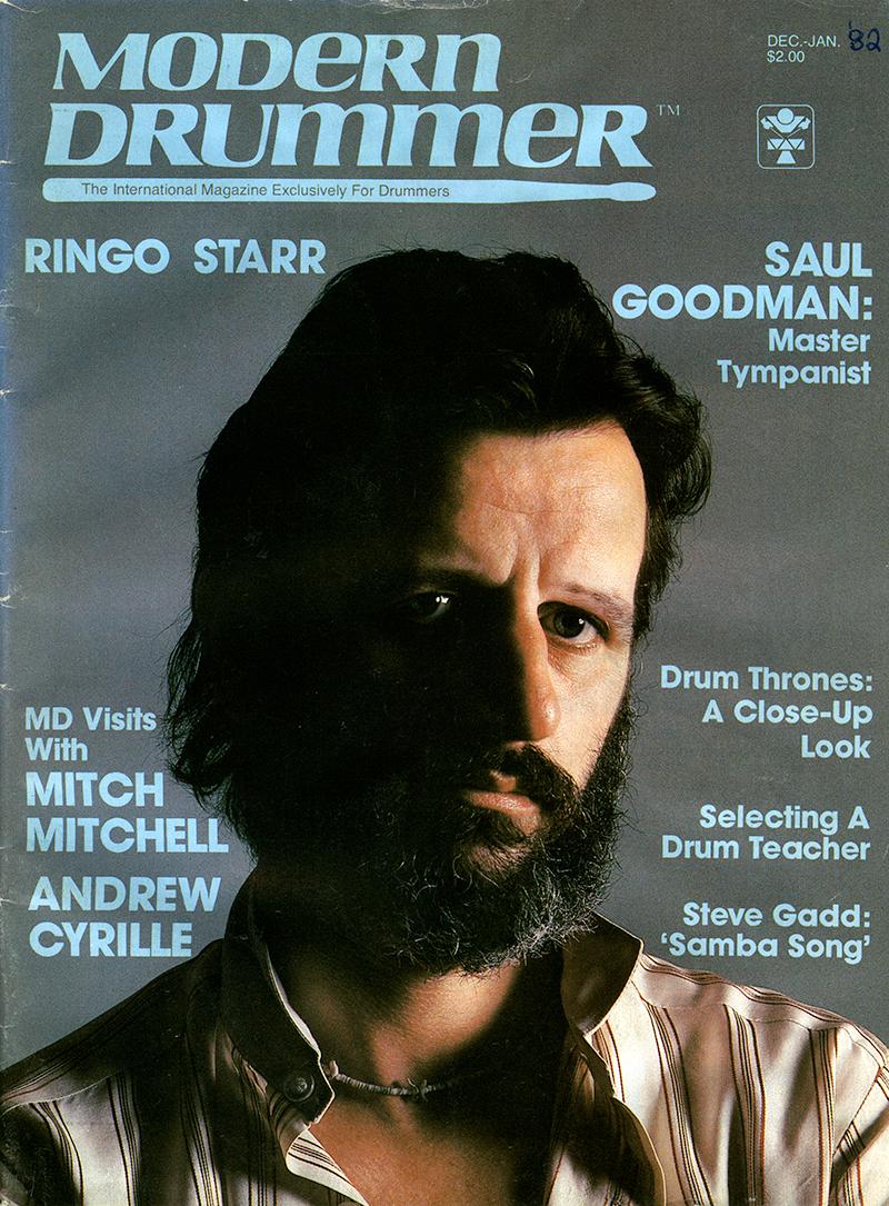 Beatles Drummer Ringo Starr On The Cover Of Modern Magazine