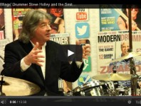 <b>VIDEO! Former Wings Drummer Steve Holley and the Smithereens' Dennis Diken Pay Tribute to Ringo Star...</b>
