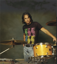 Drummer Robin Diaz