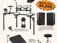 Modern Drummer has teamed up with Roland an QSC to bring you this prize package worth over $5,200....