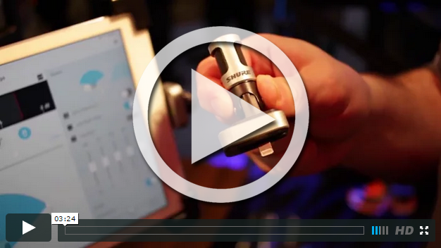 Shure at NAMM 2015 (VIDEO)