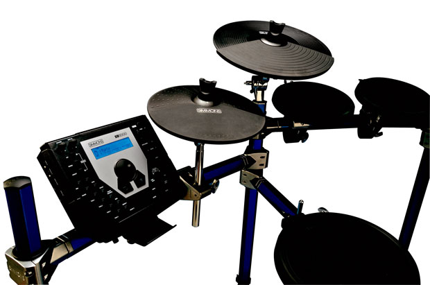 simmons sd1000. simmons releases full-size 6-piece sd1500kit electronic drumset sd1000