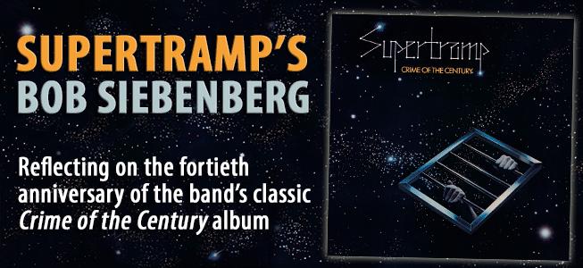 Supertramp's Bob Siebenberg