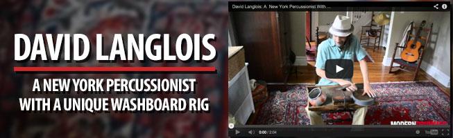 Web Exclusive: David Langlois