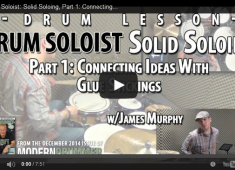 This article is on gaining freedom and flow while soloing without the constant burden of thinking about which idea to play next.