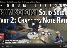 "In this miniseries we're utilizing a ""glue"" method to gain freedom and flow while soloing. This time we're exploring ways to apply different note rates."