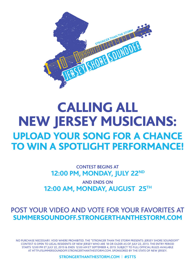 Stronger Than the Storm Music Contest