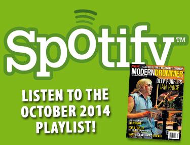 October 2014 Spotify Playlist
