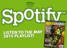 Our June 2015 Spotify playlist features ten tunes culled from an exclusive music sidebar found in Benny Greb's cover story....