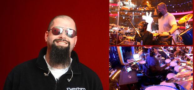 "The Voice Drummer and June 2014 Modern Drummer Cover Artist Nate Morton Interviews Drum Tech Steve ""Steevo"" Morrison"