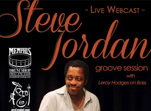 "Steve Jordan ""Groove Session"" Webcast"