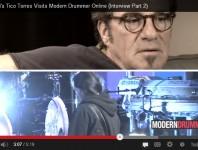 <b>Bon Jovi's Tico Torres Visits Modern Drummer Online, Part 3</b>