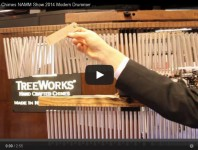 VIDEO - TreeWorks Chimes NAMM Show 2014 New Gear Coverage
