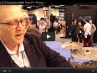 <b>VIDEO - Pure Drums &amp; TRX Cymbals NAMM Show 2014 New Gear Coverage</b>