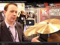 <b>VIDEO - Zildjian NAMM Show 2014 New Gear Coverage </b>