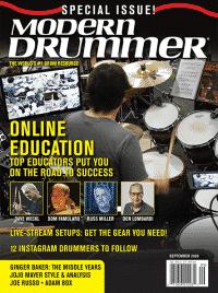 MODERN DRUMMER SEPTEMBER 2020 COVER