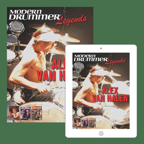 Legends Alex Van Halen Bundle Shop Cover
