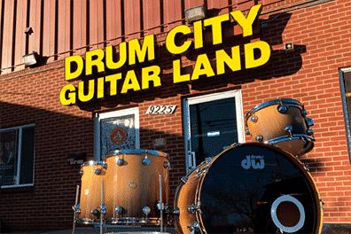 Drum Ciyy Guitar Land