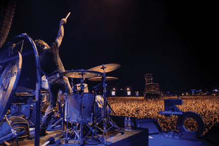 Ronnie Vannucci by Rob Loud